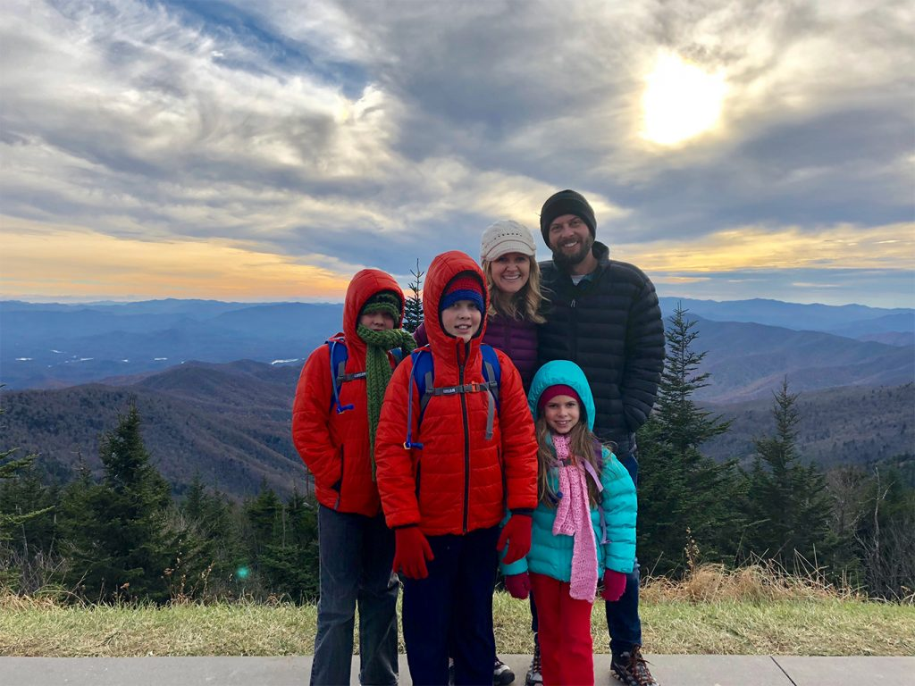 Clingmans Dome Family Picture