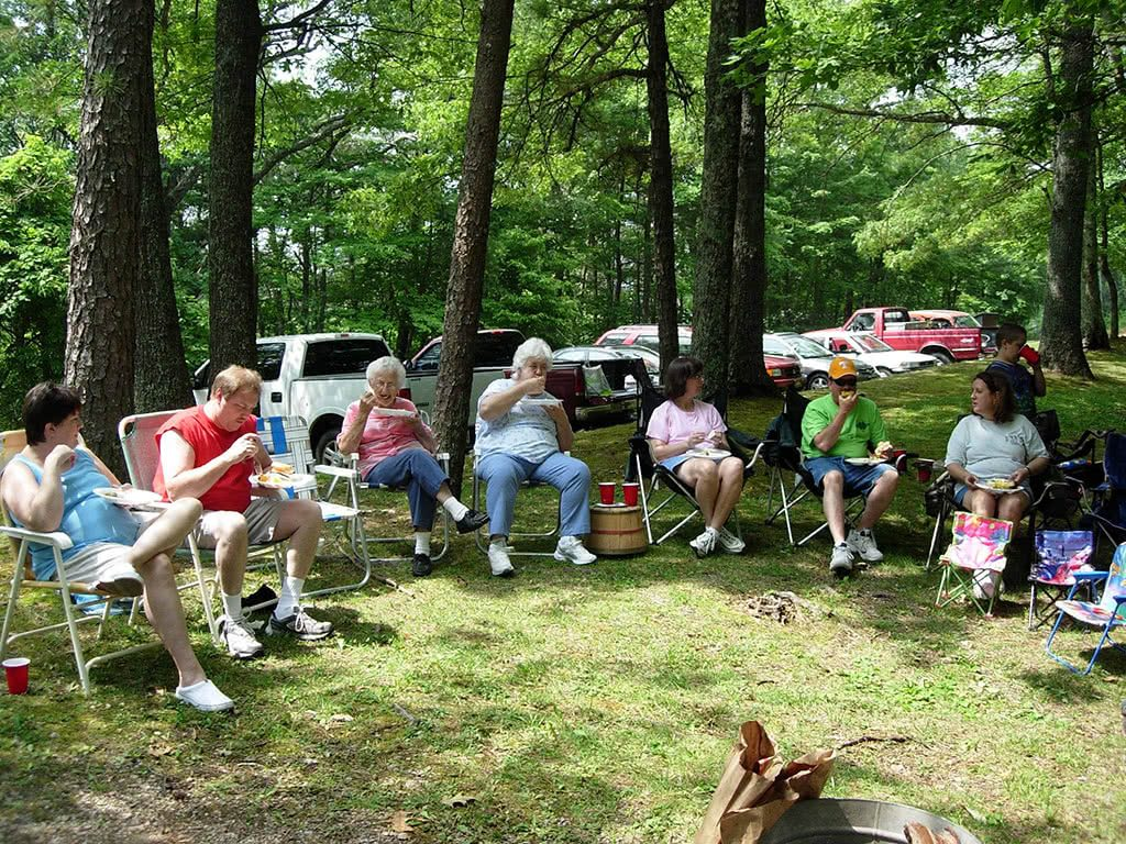 Picnics at Look Rock Tower Picnic Area