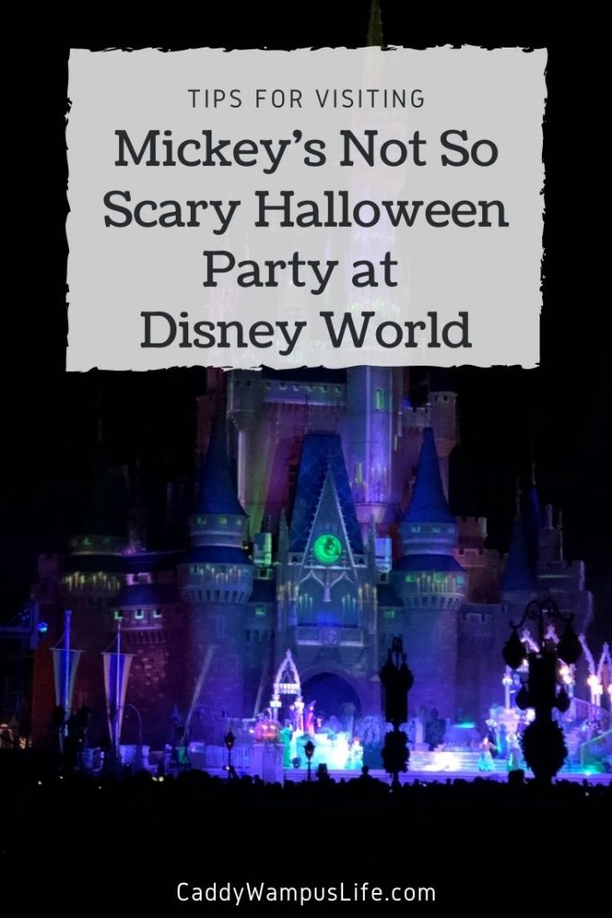 Mickey's Not So Scary Halloween Party Disney World Pinterest