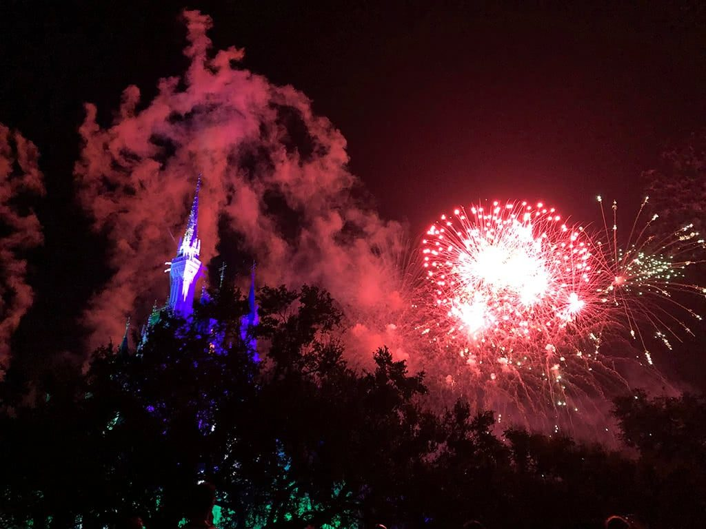 Mickey's Not So Scary Halloween Party Disney World Fireworks