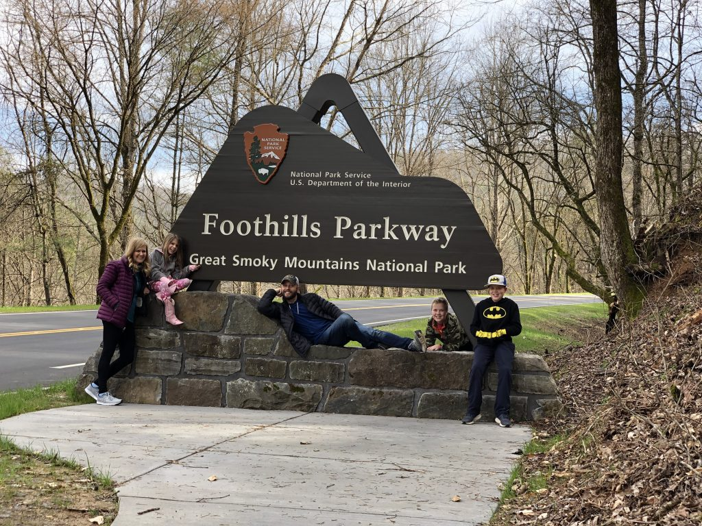Foothills Parkway Missing Link Family Picture