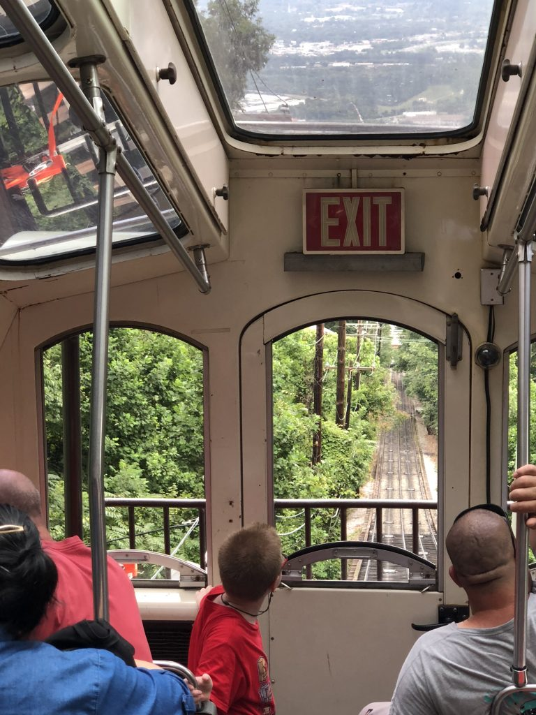 Lookout Mountain Incline Railway  Inside