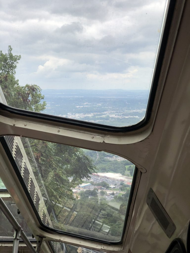 Lookout Mountain Incline Railway  Inside View