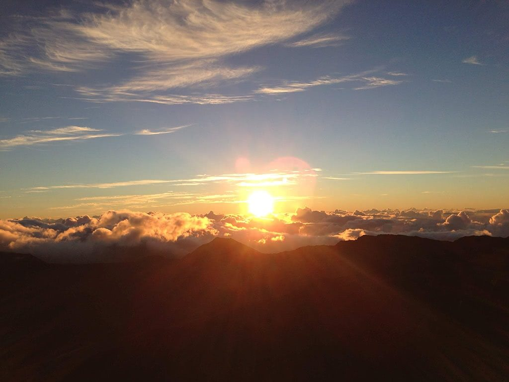 see the sunrise at haleakala it is a must things to do in maui hawaii