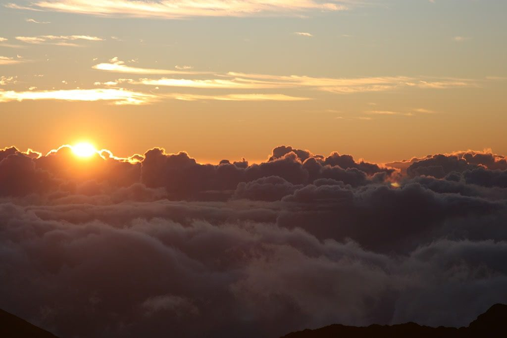 see the sunrise things to do in maui hawaii
