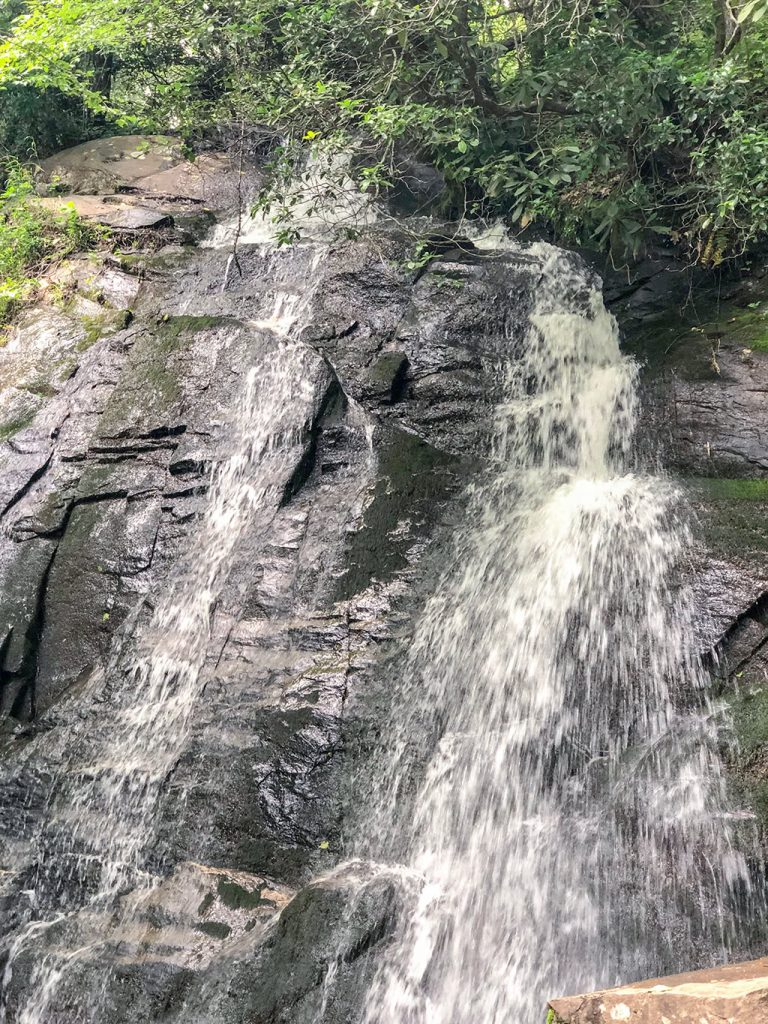 Juney Whank Falls on Deep Creek Waterfalls Hike
