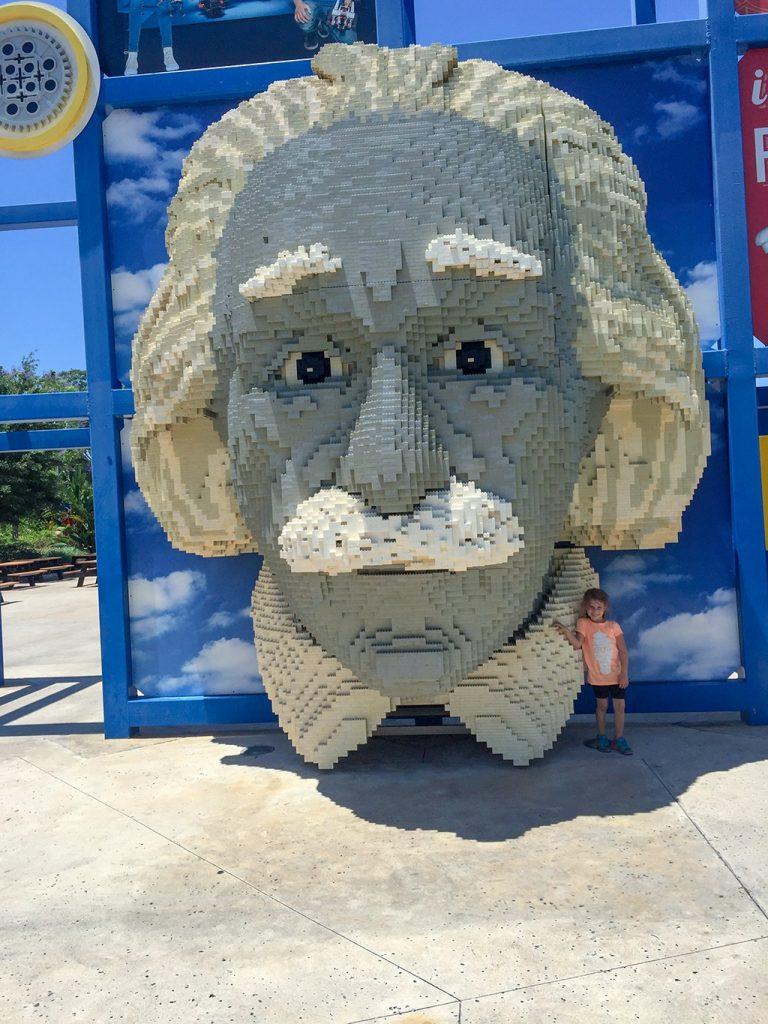 LEGOLAND Florida Tips Legoland-Albert-Einstein-Maggie