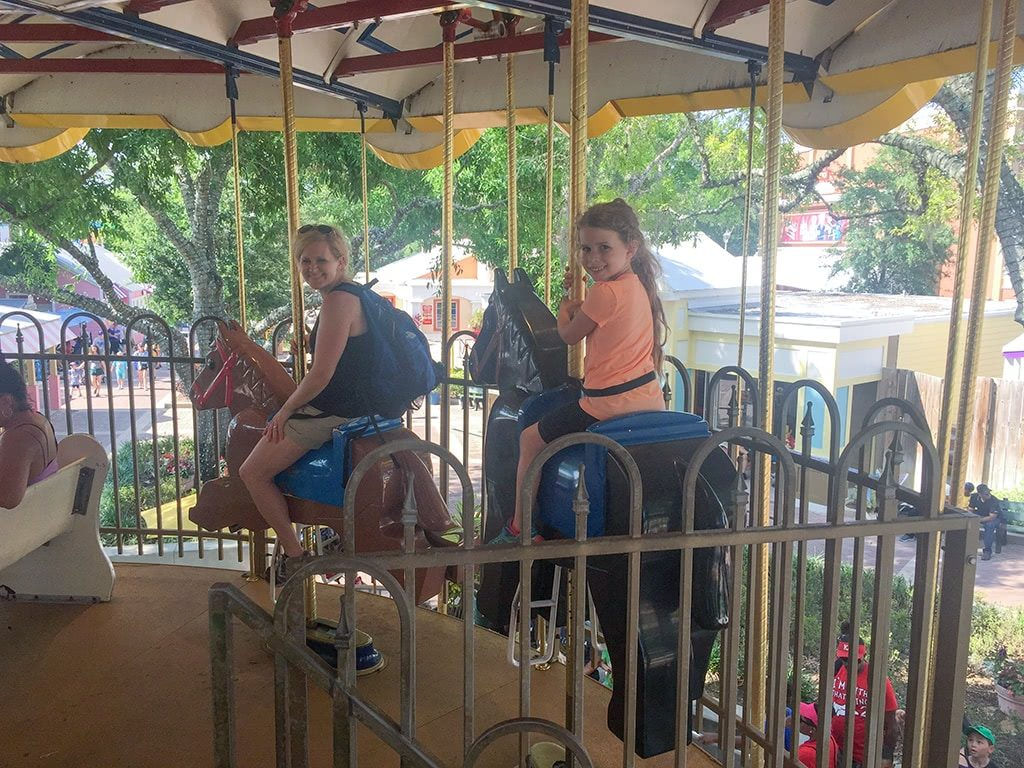 LEGOLAND Florida Tips Legoland-Double-Decker-Carousel