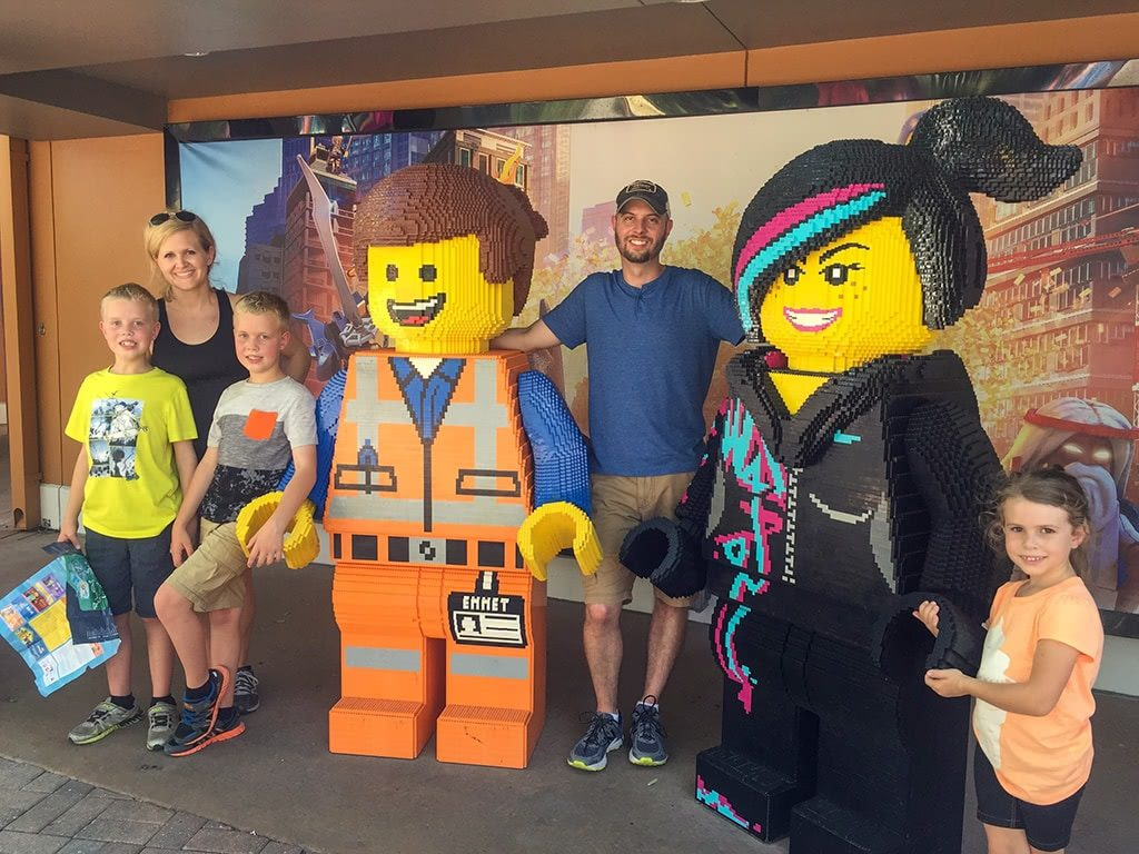 LEGOLAND FLorida Tips Legoland-Emmett-Wild-Style