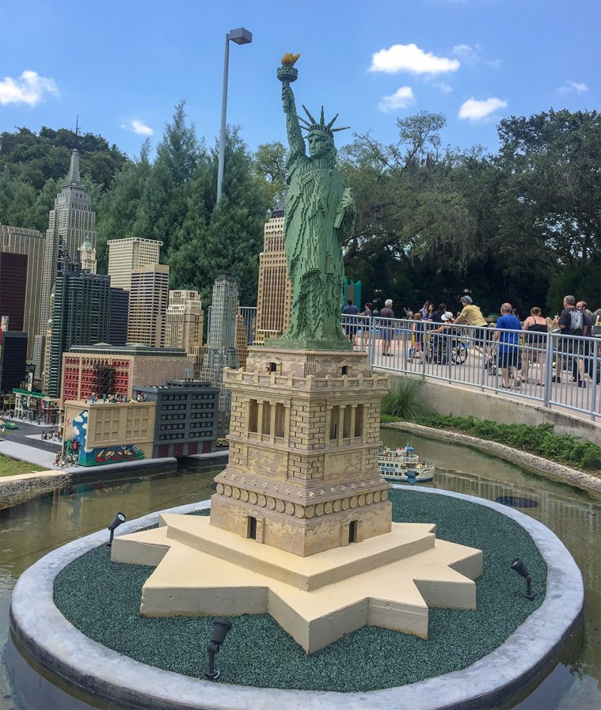 LEGOLAND Florida Tips Legoland-MINILAND-City-Statue-of-Liberty