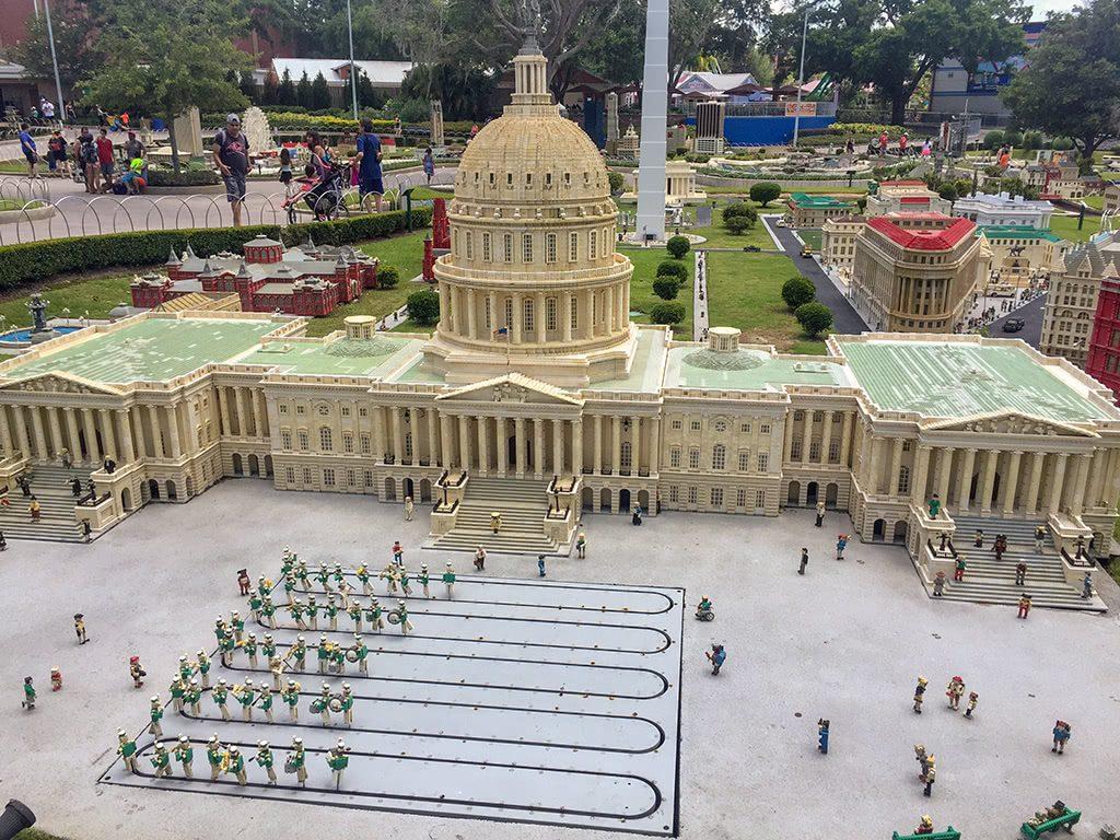 LEGOLAND Florida Tips Legoland-MINILAND-City-Washington-DC