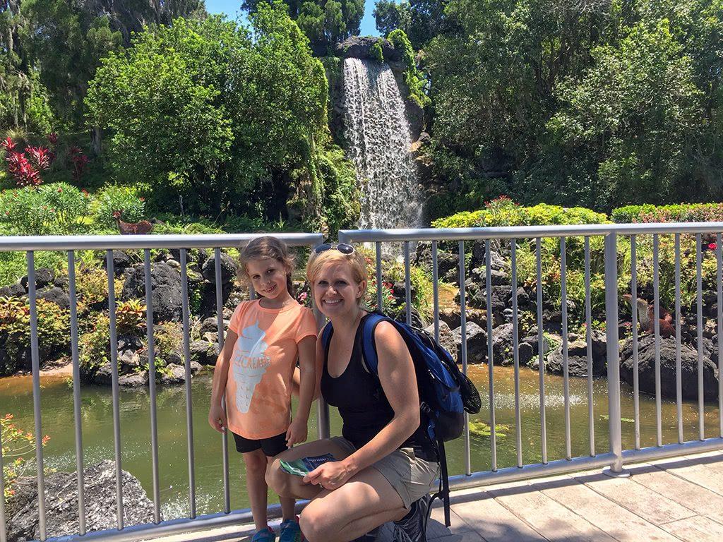 LEGOLAND Florida Tips Legoland-MINILAND-Maggie-Me-at-Waterfall