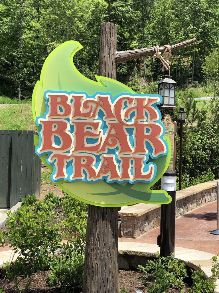 Black Bear Trail at Dollywood Wildwood Grove