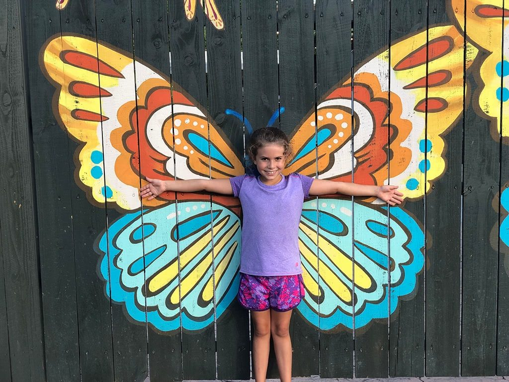 Maggie's Butterfly picture at Till & Harvest Restaurant at Dollywood Wildwood Grove