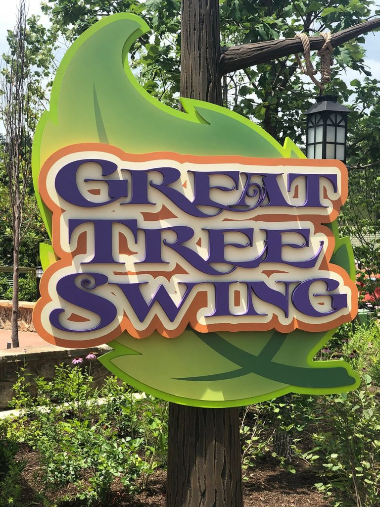 Dollywood Wildwood Grove Great Tree Swing