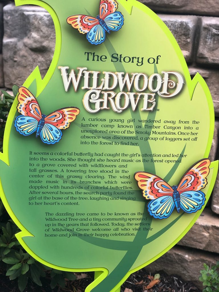 The Story of Dollywood Wildwood Grove