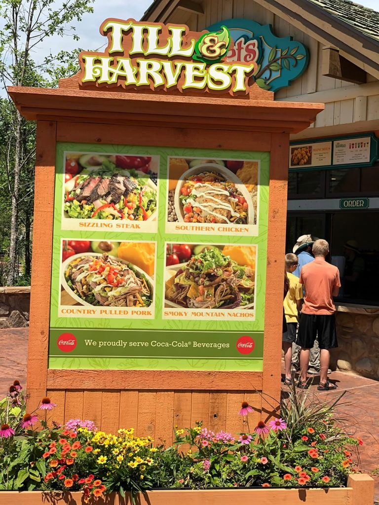 Till & Harvest Mexican Restaurant at Dollywood Wildwood Grove