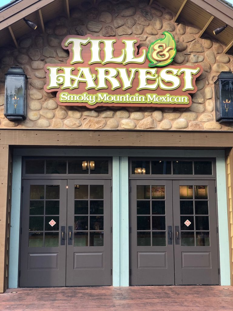 Till & Harvest Restaurant at Dollywood Wildwood Grove
