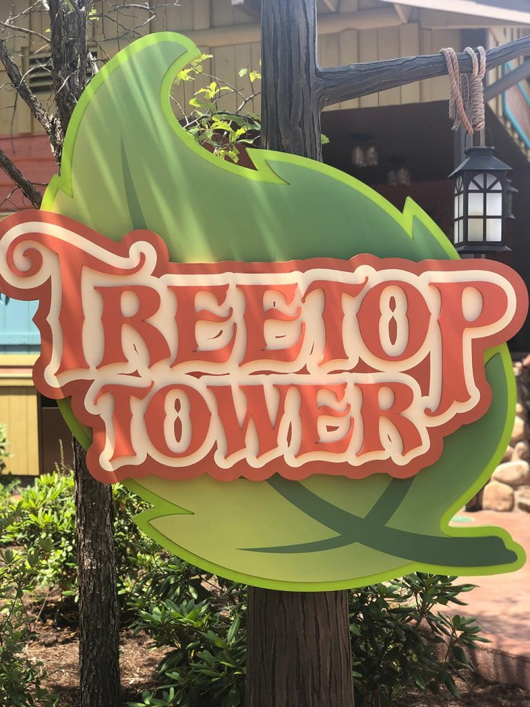 Treetop Tower at Dollywood Wildwood Grove