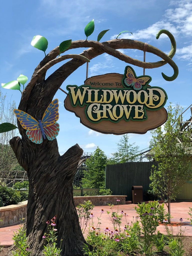 Wildwood Grove Sign