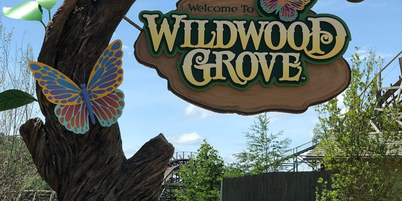 Dollywood Wildwood Grove Sign