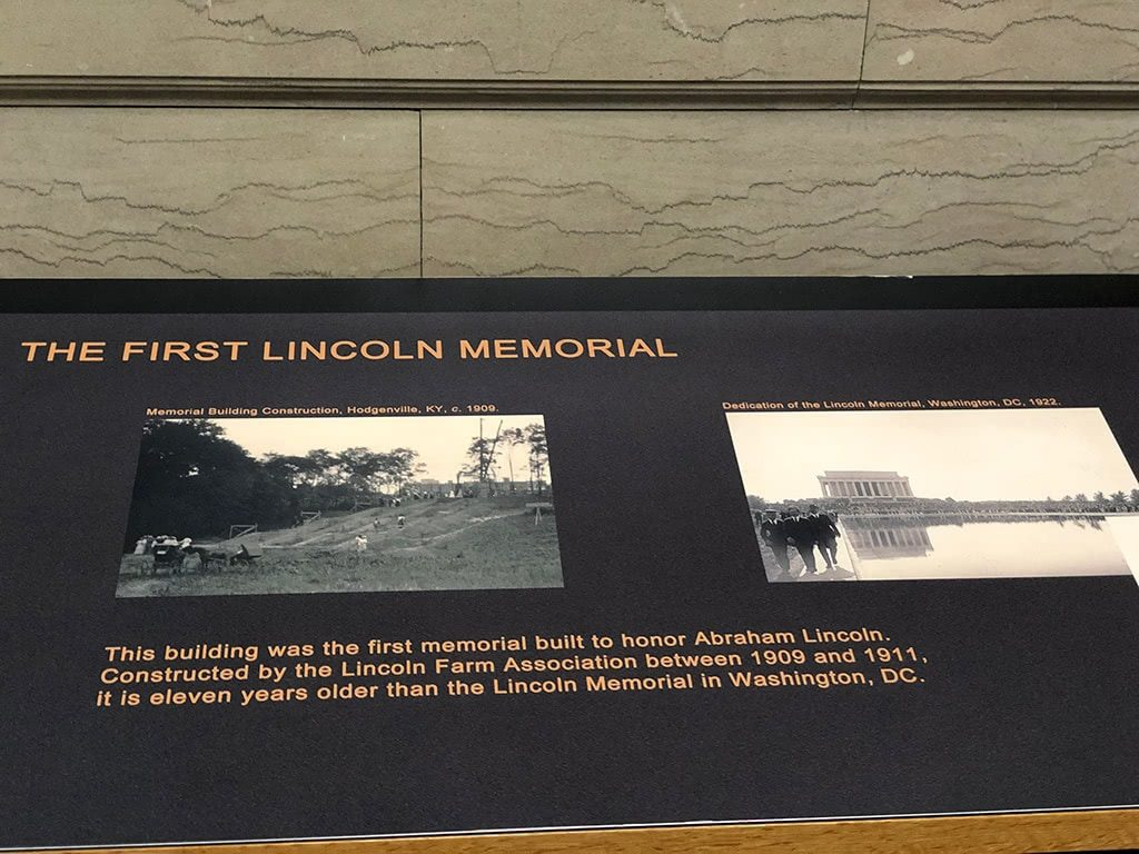 Abraham Lincoln Birthplace National Historic Park Lincoln Memorial Inside Info