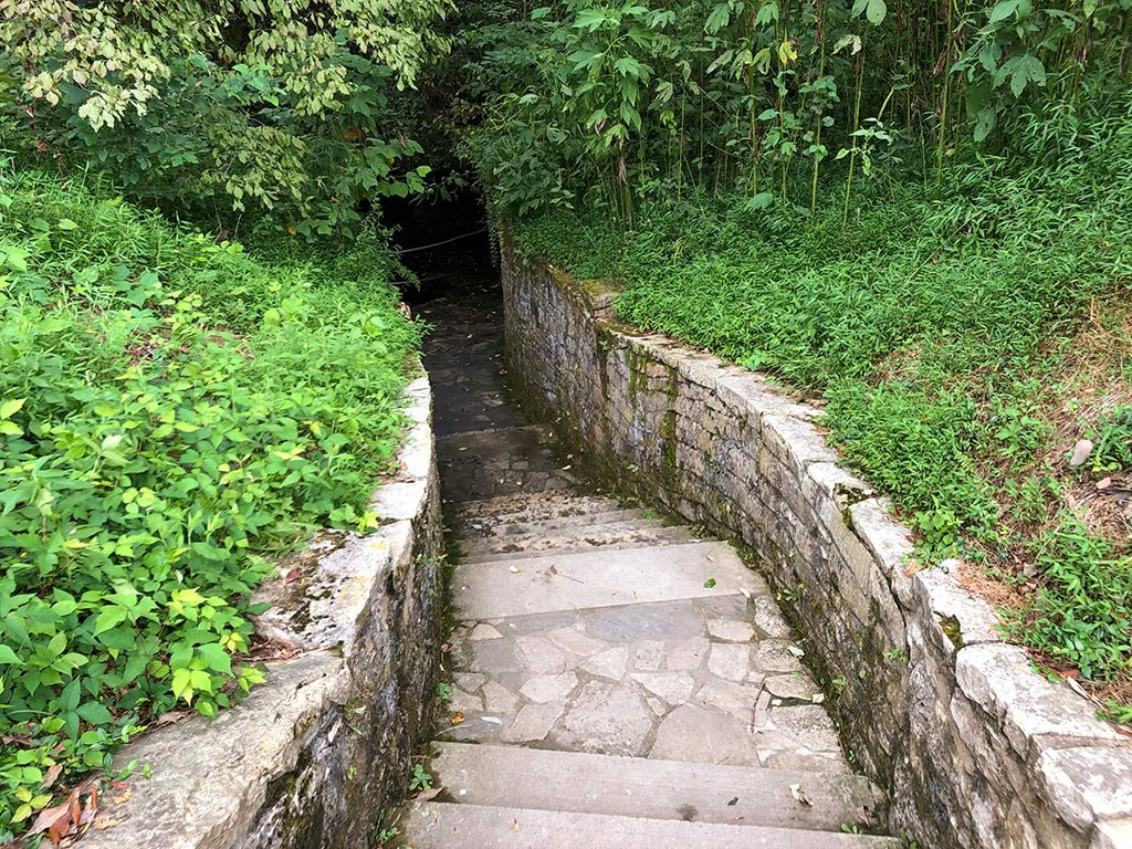 Abraham Lincoln Birthplace National Historic Park Sinking Spring Steps
