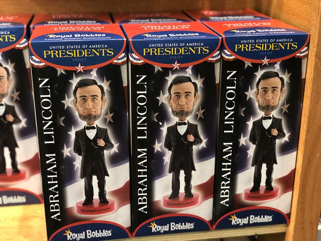 Abraham Lincoln Birthplace National Historic Park Visitor Center Bobblehead