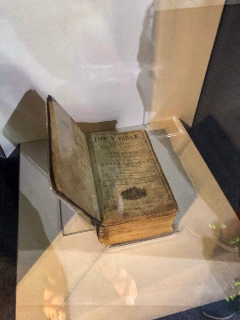 Abraham Lincoln Birthplace National Historic Park Visitor Center Family Bible 2