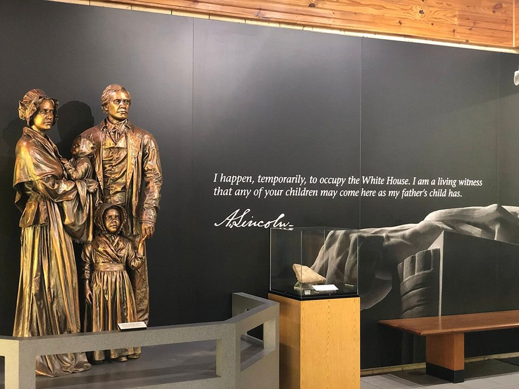Abraham Lincoln Birthplace National Historic Park Visitor Center Quote on the Wall