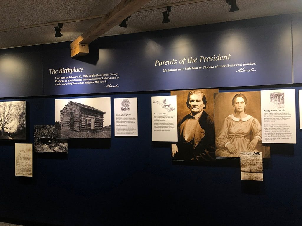 Abraham Lincoln Birthplace National Historic Park Visitor Center Wall
