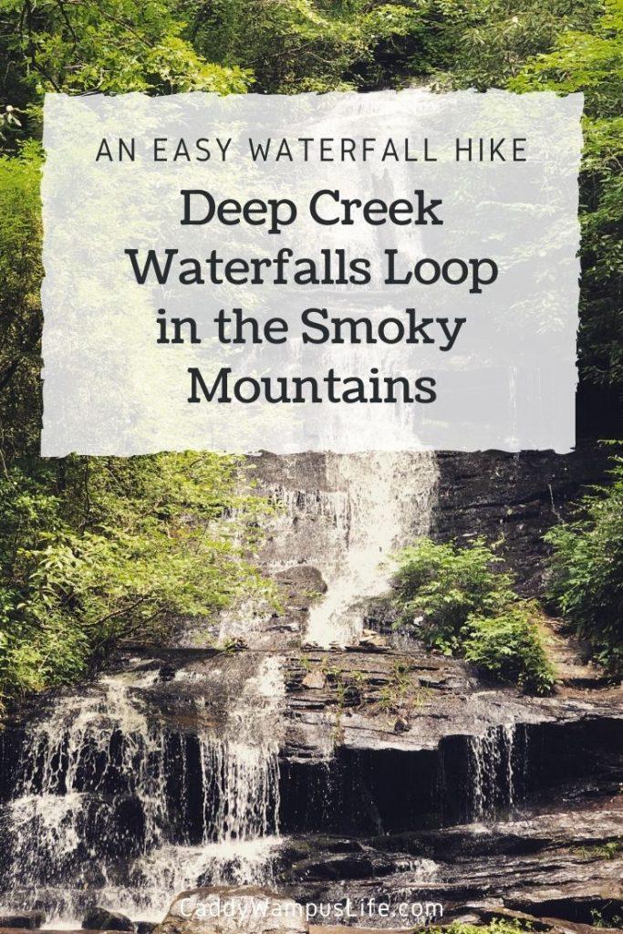 Deep Creek Waterfalls Smoky Mountains