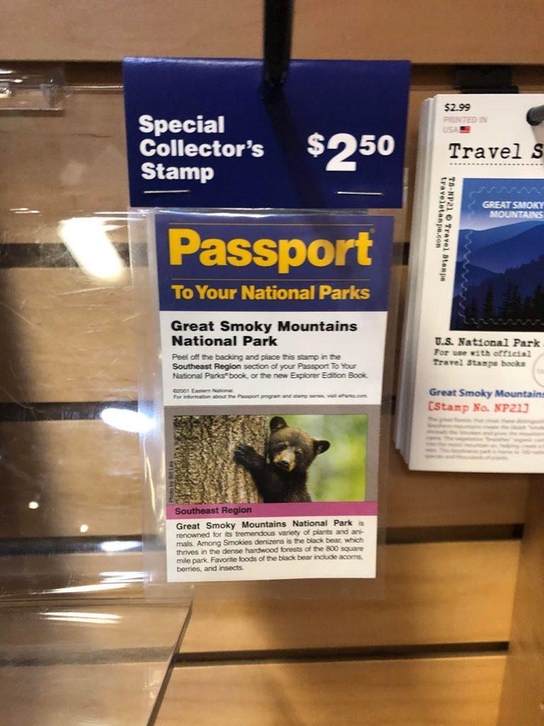 National Park Passport Collectors Stamps