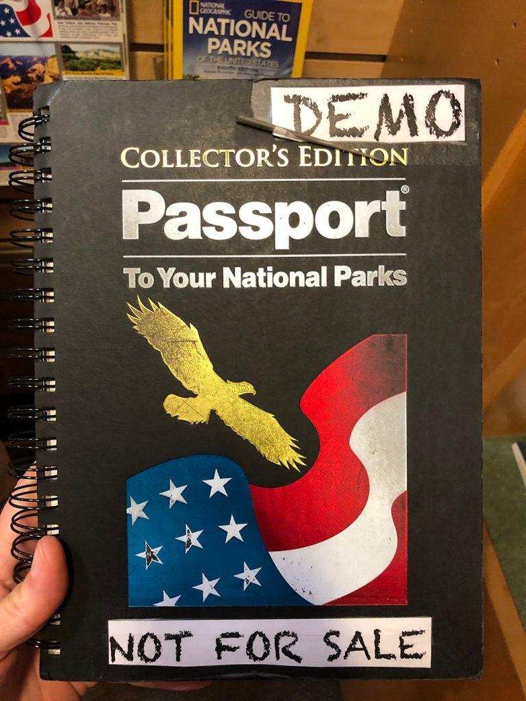 National Park Passport Demo Book