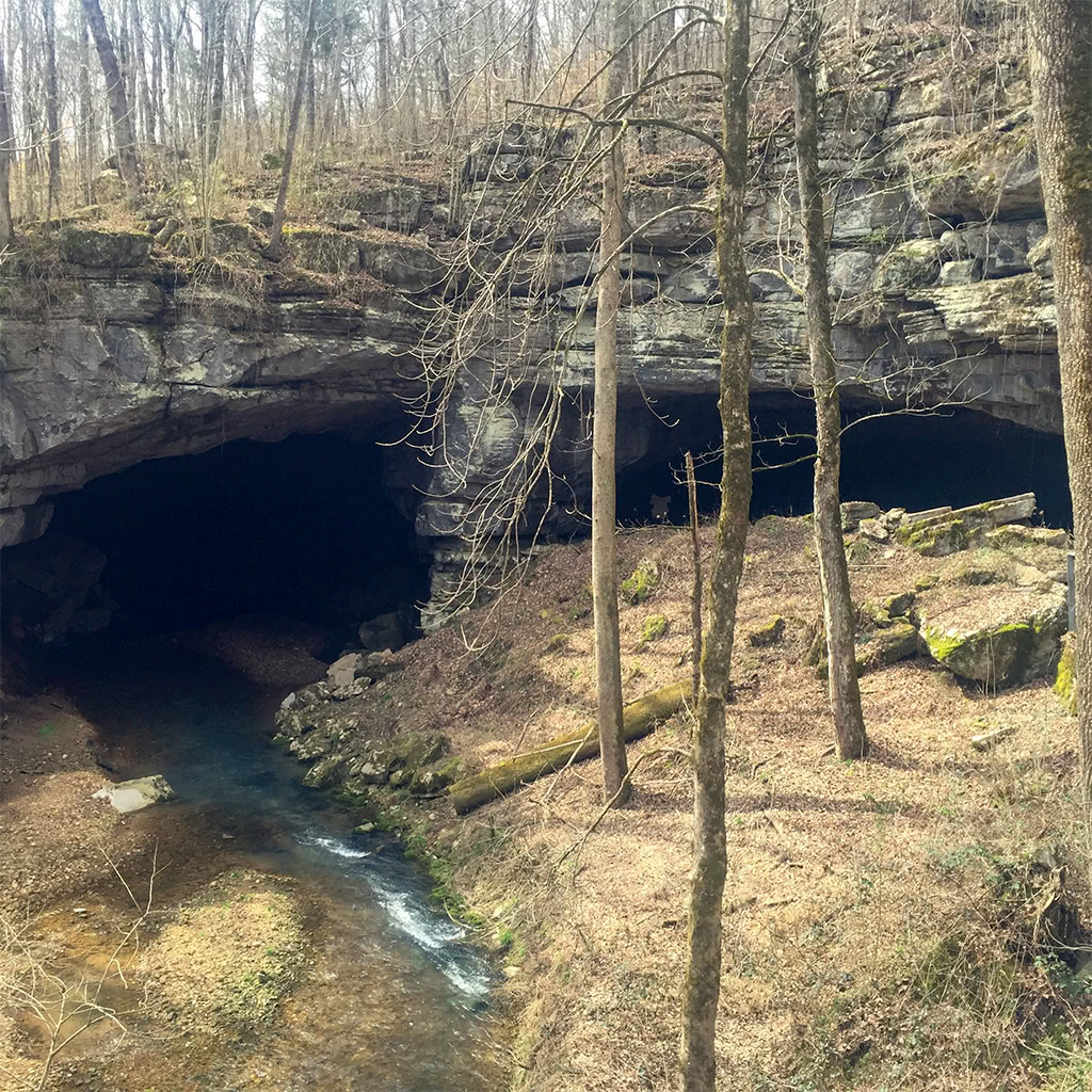 Russell Cave Location in Alabama