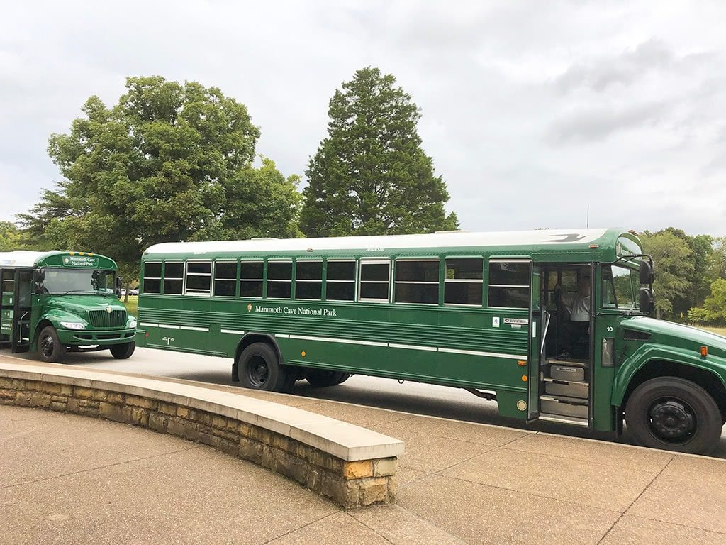 Mammoth Cave National Park Tour Buses