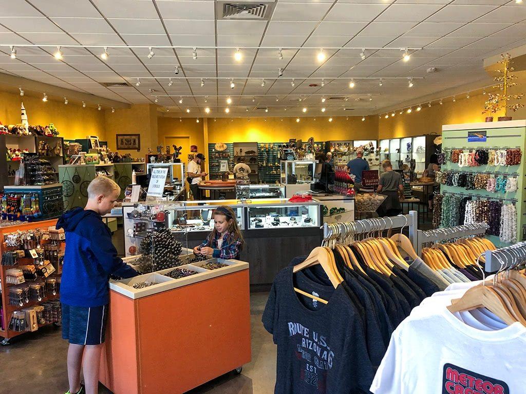 Meteor Crater in Arizona Gift Shop