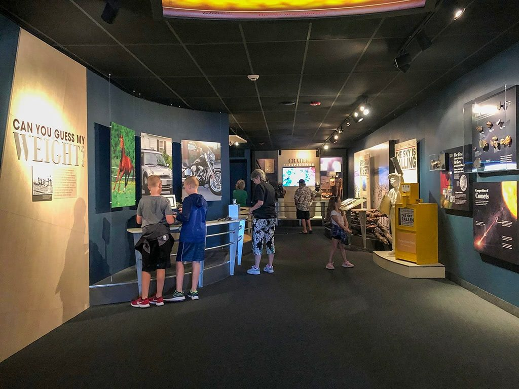 Meteor Crater in Arizona Museum