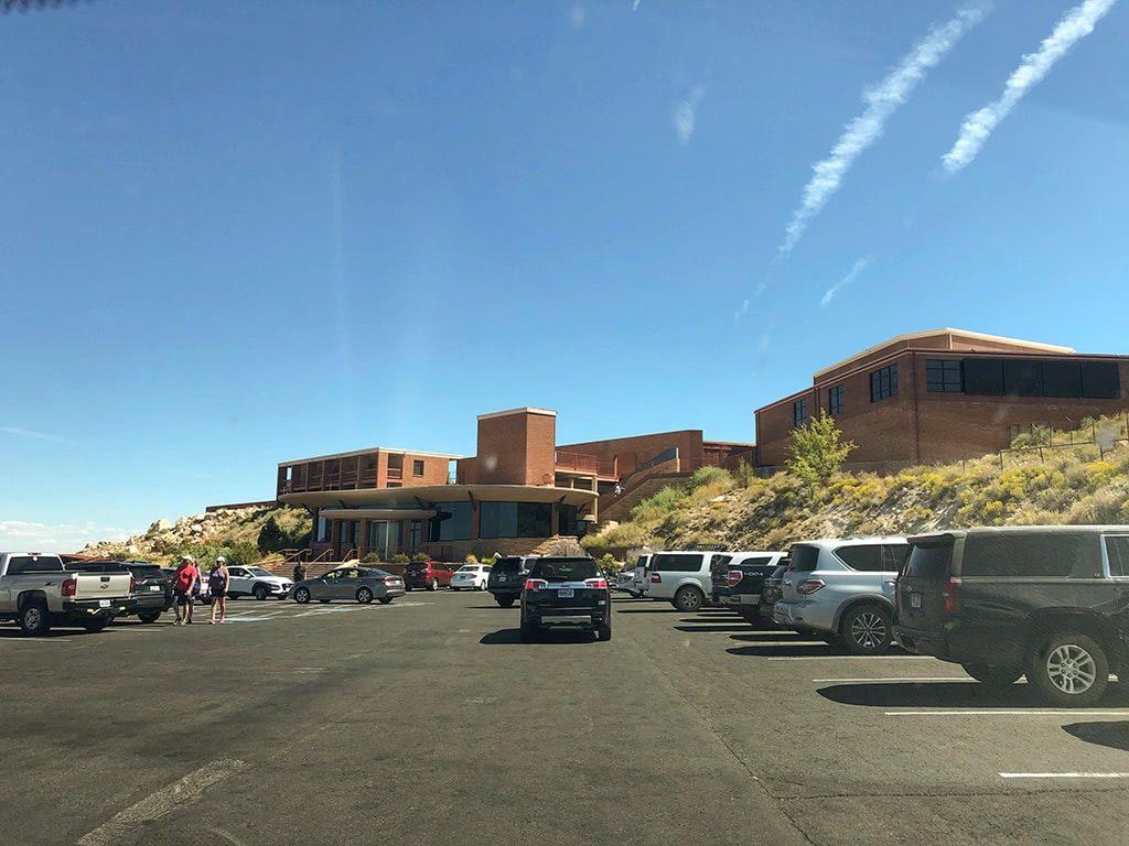Meteor Crater in Arizona Parking Lot