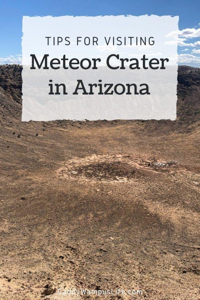 Meteor Crater in Arizona Pinterest