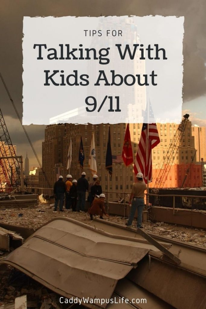 Talking with Kids about 9/11 Pinterest