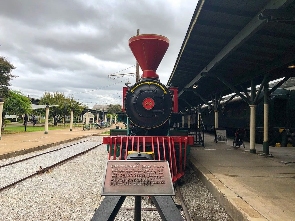 Fun Things to Do in Chattanooga Choo Choo Front of Train