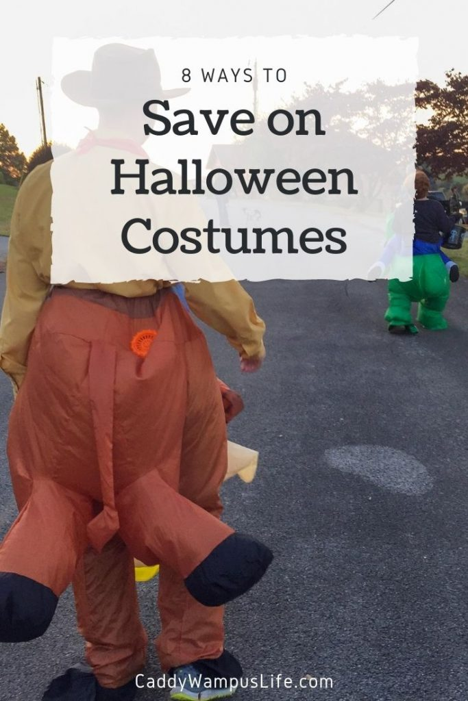 Ways to Save on Halloween Costumes Pinterest