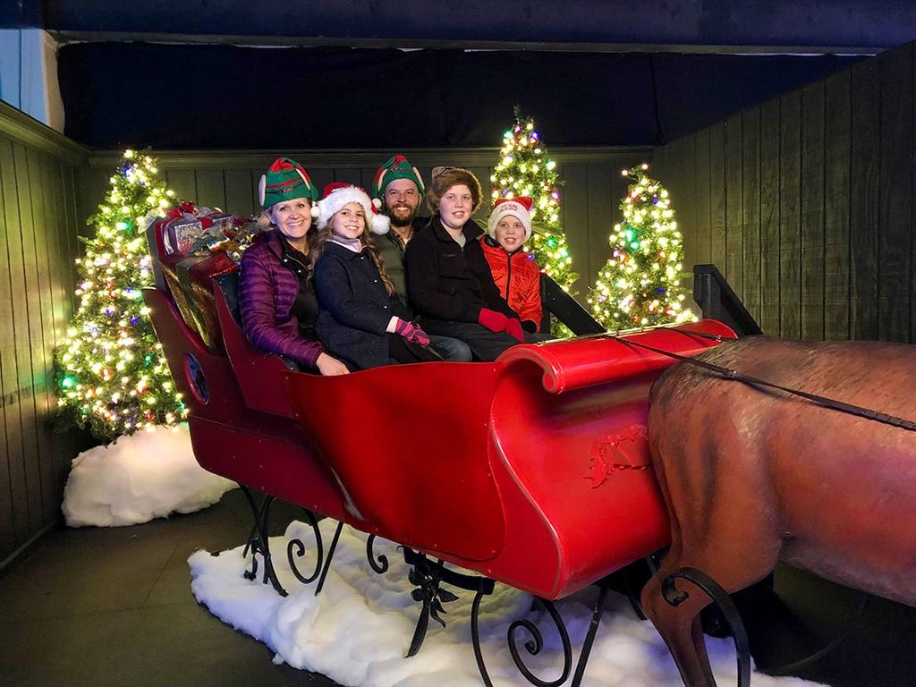 Dollywood Christmas Sleigh Ride