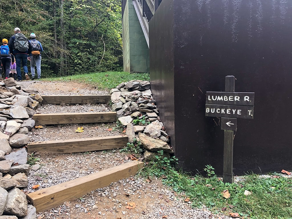 Lumber Ridge Trailhead Signs