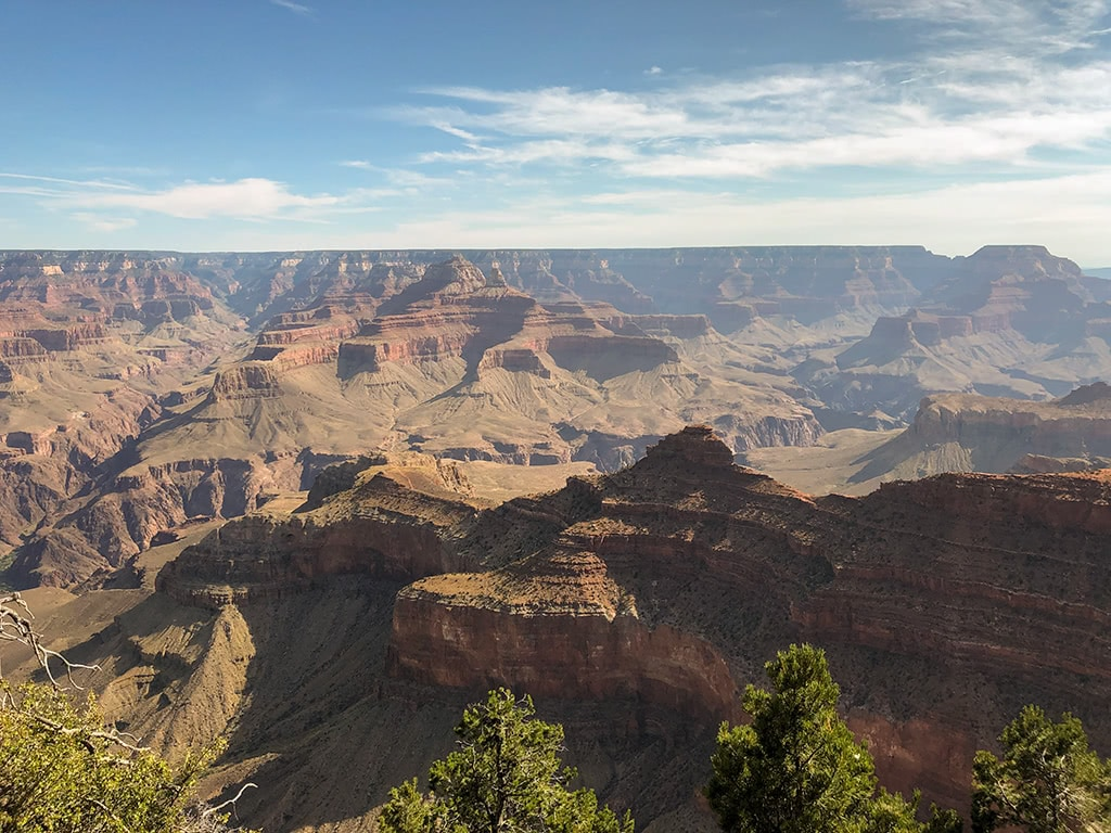 View at the South Rim of the Grand Canyon