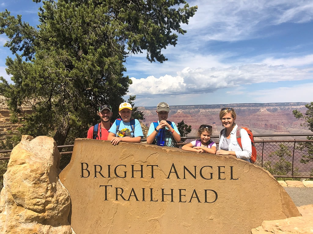 Bright Angel Trailhead