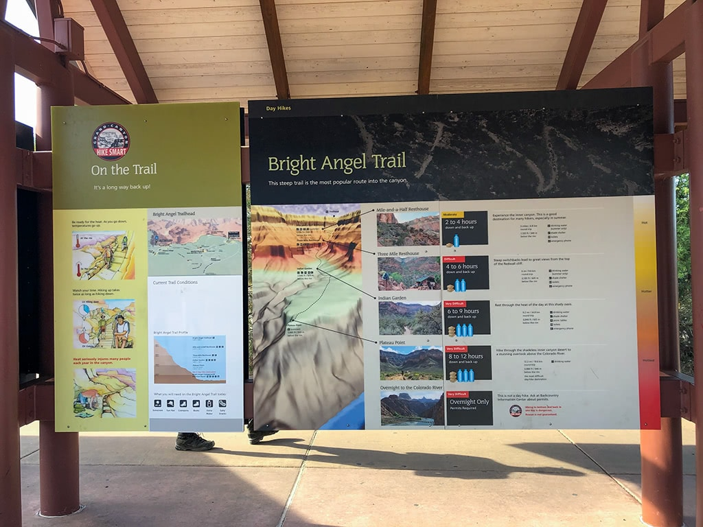 Bright Angel Trail Information