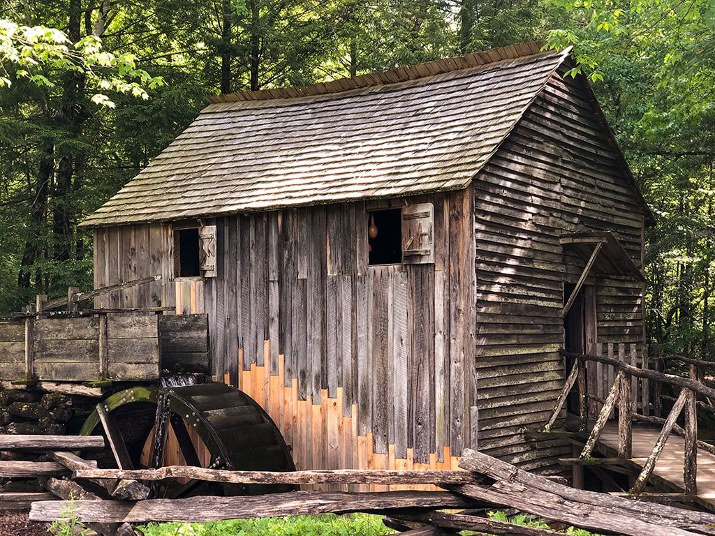 scenic drives in the smoky mountains offer sights of grist mills and more!