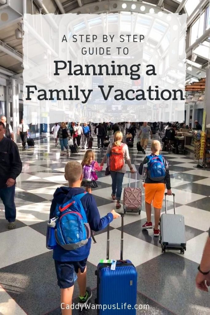 Planning a Family Vacation Pinterest